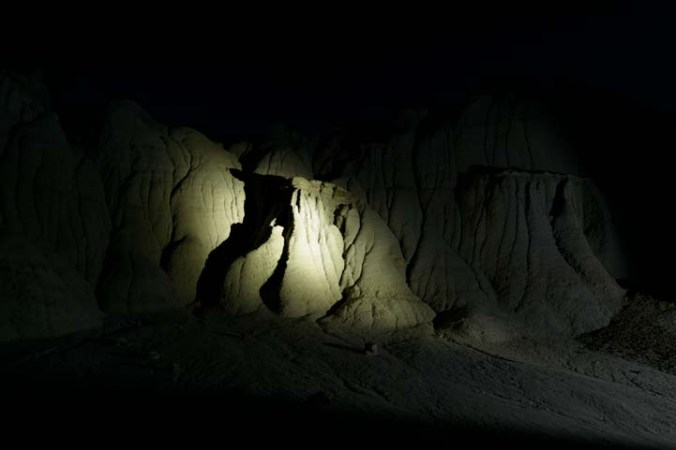 bright light cave