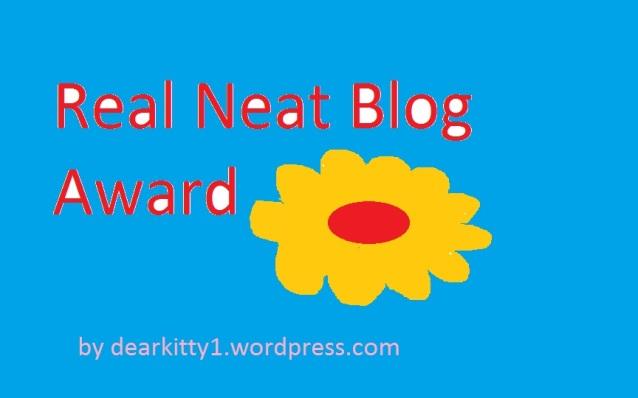 Real Neat Blog Award logo