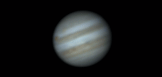 Jupiter poor seeing