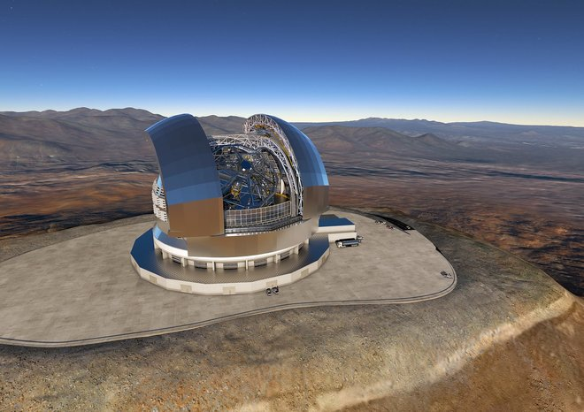ESO Signs Largest Ever Ground-based Astronomy Contract for E-ELT
