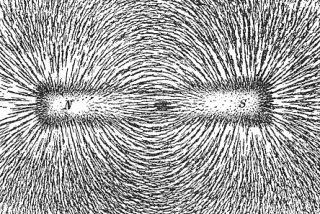 magnetic field iron filaments