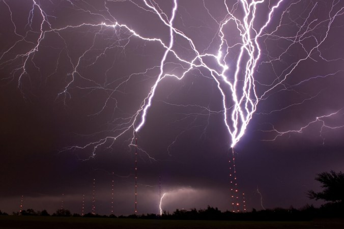 how lightning strikes science at your doorstep